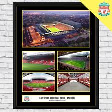 Liverpool FC - Anfield Stadium - Football Memorabilia - Framed Fan Gift