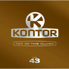 KONTOR = Top Of The Clubs 43 = Fedde/Pryda/Muzzaik/Doorn....=3CD= groovesDELUXE!