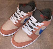 Nike SB Dunk Low Pro Corduroy Dusty Peach RARE SAMPLE Size 10.5 DS New No Box