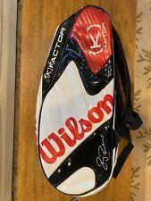Wilson K Factor Six-One Tour 90 Tennis Bag Rare - Roger Federer Mib