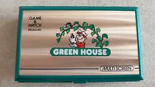 NINTENDO Game & Watch Green House GH-54 LCD Multiscreen MADE IN JAPAN (1982)