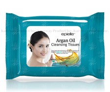 epielle® Argan Oil Makeup Remover Cleansing Tissue Face Wipes, 30 Ct