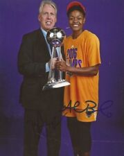 Alana Beard & Brian Agler signed Los Angeles Sparks 8x10 photo autographed