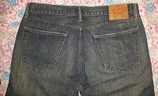 Mens Levis 505 Jeans 36x32 Denim Pants Original Fit