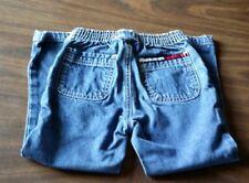 Tommy Hilfiger kids stretchy back waist blue denim jeans size 4T Toddler