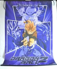 Vintage DRAGONBALL Z CHARACTER FLAG Cloth Textile Banner ANIME Hanging WALL ART