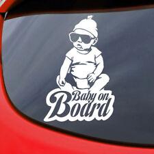 Baby on Board Sticker Vinyl Decal Funny Car Window Bumper Child Hangover Carlos