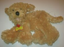 Build-A-Bear Uk Exclusive Labradoodle Dog Plush with Red Collar 2006 edition