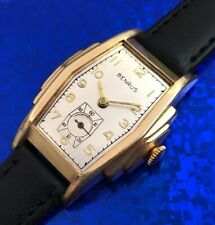 Vintage 1930s Mans BENRUS Hand Wind Wristwatch FULLY SERVICED AND WARRANTY!