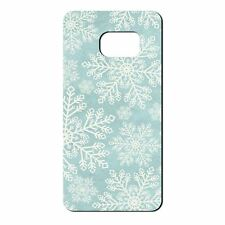 For Samsung Galaxy S7 Silicone Case Christmas Snowflake Pattern - S5228
