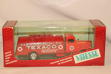 Vitesse, 1934 White Texaco Tanker Truck, Diecast Metal, New in Box