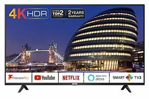 TCL 43P610K 43-Inch 4K Smart TV 3.0 Ultra HD - Freeview Play / BBC iPlayer
