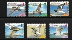 Alderney 2009 Birds set mint