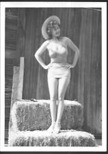 Leggy Woman in Swimsuit Vintage 5x7 Pinup Photo