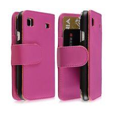 Housse Coque Etui Portefeuille pour Samsung Galaxy SCL i9003 Couleur Rose