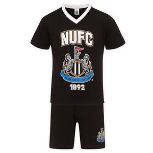 Newcastle United Mens Pyjamas Short Loungewear OFFICIAL Football Gift