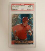 2011 Bowman's Best Prospects Mike Trout ROOKIE RC #BBP9 PSA 10