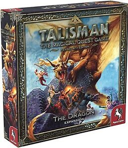 Talisman Board Game 4th Edition: The Dragon Expansion