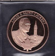 Large Canada 1948 Prime Minister LOUIS SAINT-LAURENT Medal