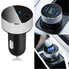 Auto 2 USB Adapter Ladegerät 3,1A 12V/24V Zigarettenanzünder Quick Charge Handy