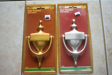"""New Lot of 2 Ace 7"""" Satin Nickel Door Knocker 7 inch Engravable Free Shipping"""