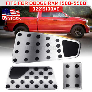 Gas & Brake & Clutch Foot Pedal Cover For Dodge Ram 1500 2500 3500 4500 5500