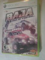 Baja: Edge of Control (Microsoft Xbox 360, 2008)  Tested Fast Shipping No Manual