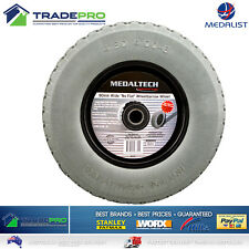 "Wheelbarrow Wheel 16"" x4"" 90mm Wide Puncture Proof Barrow Trailer Tyre 25mm Bore"