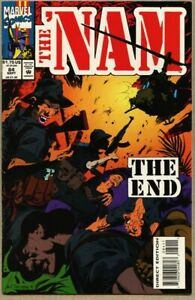 The 'Nam #84-1993 vf 8.0 The Nam Mike Harris Vietnam hard to find last issue