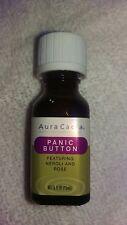 Aura Cacia Panik Knopf Ätherisches Öl 0.5 FL OZ (15 ML)