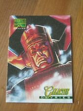 Marvel Masterpieces Canvas #6 Galactus - 1995 by Dave DeVries                ZN1