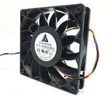 Original Delta 12 cm 12V 1.74A wind speed high speed supercharger fan FFB1212EH