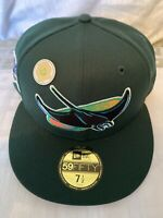 Hat Club Exclusive Green Eggs And Ham Tampa Bay Devil Rays Pink UV Fitted  7 5/8