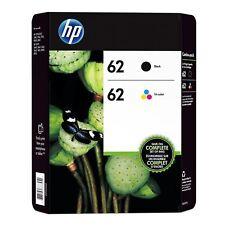 Genuine Original HP 62 Black & Colour Ink Cartridge For Envy 5540 Printer