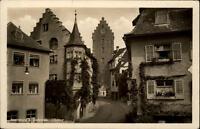Meersburg am Bodensee AK ~1930/40 Straßenpartie am Obertor Gasthof zum Bären