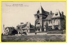 cpa Rare 85 - CROIX de VIE VILLAS La Cigale, Beau Séjour, Josepha, et Pil Ours