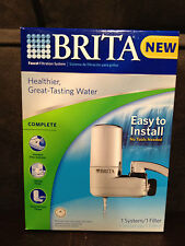 BRITA faucet filtration system ~Brand New ~ Healthier,great tasting water. 35618