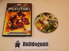 The Invincible Iron Man DVD w/ Case Paul Nakauchi Stephen Mendillo Marvel Movie