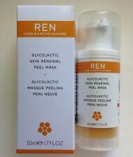 REN Glycolactic Skin Renewal Peel Mask ~ 1.7oz/50ml ~ New In Box