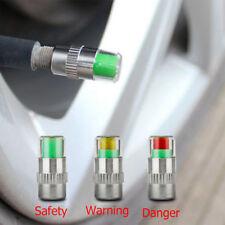 Set de 4 Piezas Válvulas con Sensor Indicador de Presión para Llantas