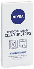 Nivea Clear Up Strips Visage 4 x Nose 2 x Chin Clean Pores T-Zone