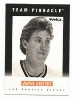 1991-92 Pinnacle Team Pinnacle French #B11 Wayne Gretzky Los Angeles Kings