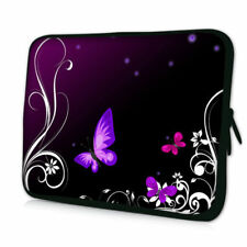 "12""Butterfly Neoprene Laptop Bag Sleeve Case For 11.6"" 12"" Macbook Air HP Dell"