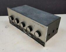 Leak Varislope Mono Vintage Valve HiFi Pre-Amp Amplifier 1960s Mullard Tube