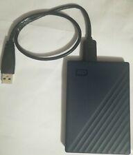 WD 2TB My Passport for Mac USB 3.0 External Hard Drive (Midnight Blue +USB Cable
