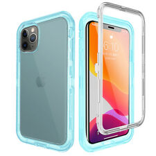 For iPhone 11 / 11 Pro / Max Shockproof Transparent Clear Heavy Duty Case Cover