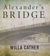 Alexander's Bridge by Willa Cather (2013, CD, Unabridged)