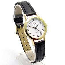 Ravel Ladies Super-Clear Easy Read Quartz Watch White Face R0102.01.2A