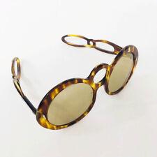 ⭕ 60s Vintage Cutout Sunglasses : France alain 70s hippie avant garde mikli 80s