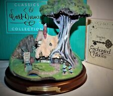 WDCC DISNEY CLASSICS ENCHANTED PLACES SLEEPING BEAUTY WOODCUTTER'S COTTAGE